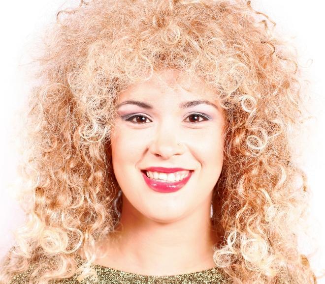 Peachy 80S Hairstyles Curly Hair Short Hairstyles Gunalazisus