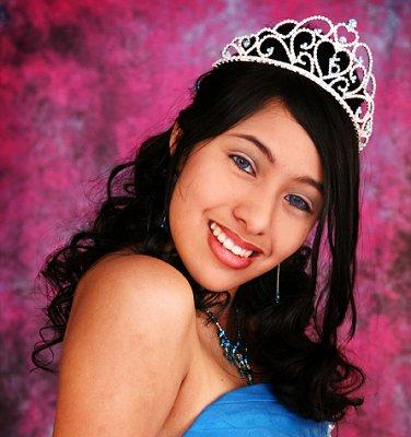 Quinceanera Hairstyles For Long Hair With Curls And Tiara : tiaras tiaras are popular hair accessories for quinceaneras and many