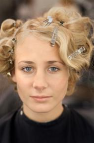 short formal styles retro pin curls to further enhance your your ...
