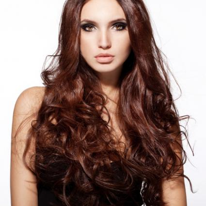 Beautiful Brunette Hair Pictures