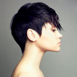 145261 250x250 short shag Choppy trendy hairstyles are all about lots of layers and textures.