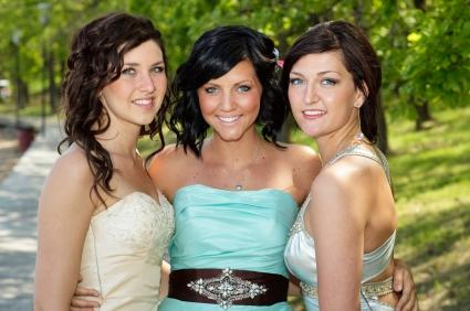 three pretty homecoming hairstyles