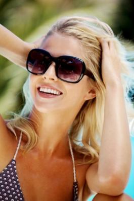 blonde beachy hair