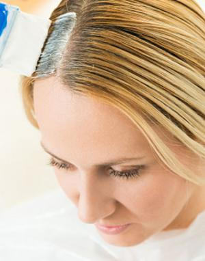 Touchup hair roots