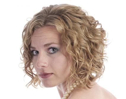 Hairstyle After Perm : Short body wave style hair