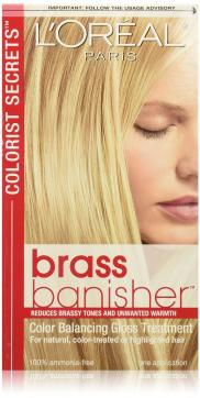 Colorist Secrets Brass Banisher by L'Oreal Paris