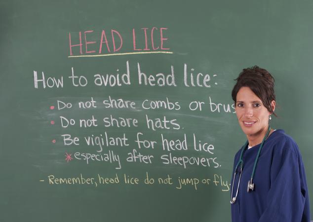 avoiding lice