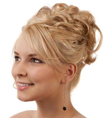 Pleasant Bridesmaid Hairstyles Slideshow Hairstyles For Women Draintrainus