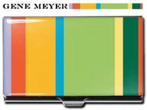 Gene Meyer Striped Card Case at Amazon.com