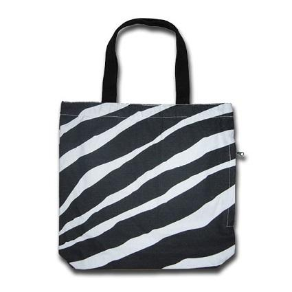 FunTote Zebra Print Tote Bag
