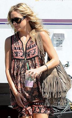 McFadin bag in putty as seen on Kate Hudson
