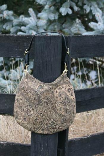 Black Gold Equestrian Bridle Bag