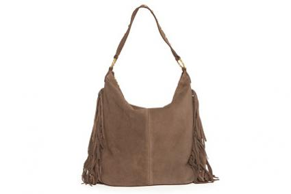 Fringed Leather Handbag