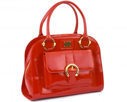organized-style handbag