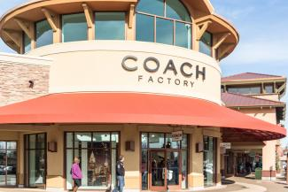Woodburn, Oregon Coach Factory Store