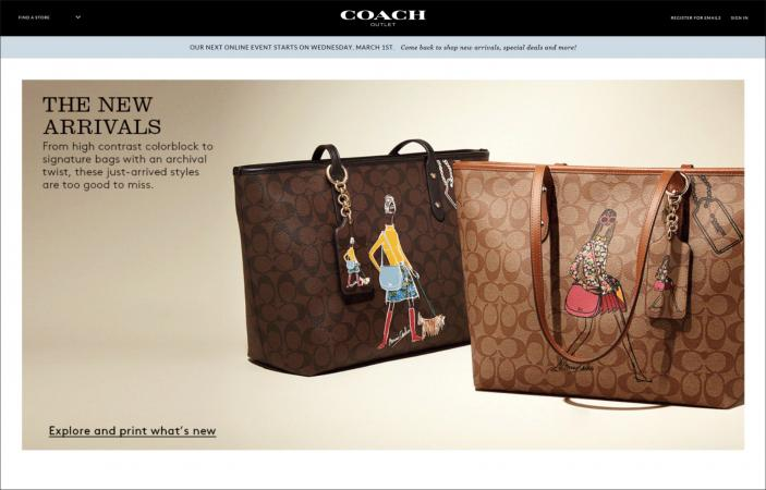 coach purses discount outlets yfrt  Coach Outlet Website