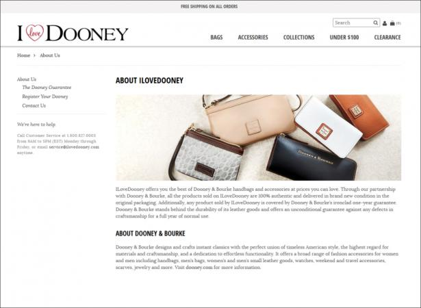 ilovedooney.com screenshot