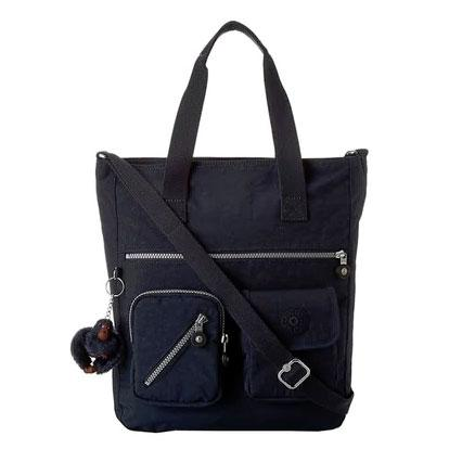 Kipling Johanna True Blue Tote Handbag