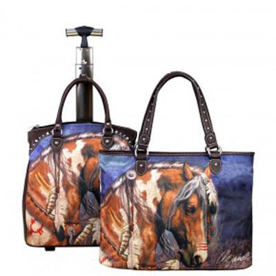 Horsehead Two-Piece Luggage Set