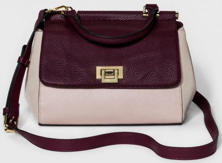 Women's Top Handle Satchel Handbag - A New Day™