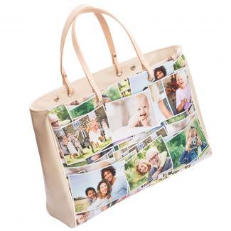 Bags of Love custom collage bag