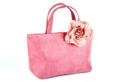 Silk Flower Handbags