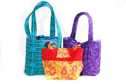 Quilted Fabric Handbags