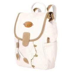 White Backpack Purse