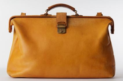 Mens Leather Luggage