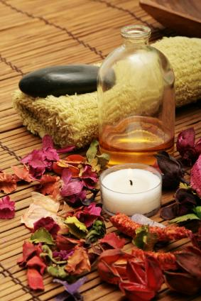 Herbal spas encourage relaxation.