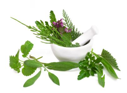 Herbal waters are great for natural skin care.