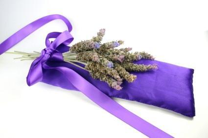 lavender, homemade herbal gifts, sachet