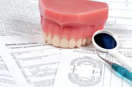 dental mirror, teeth and chart
