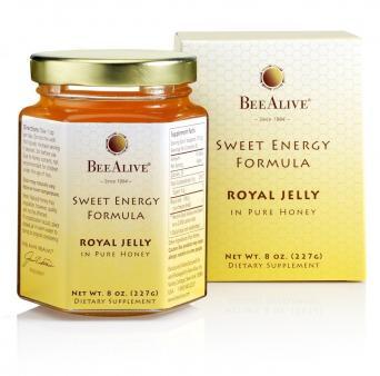BeeAlive Sweet Energy Formula Royal Jelly and Honey