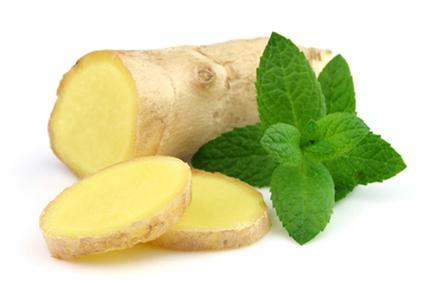 Peppermint and Ginger Root