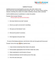 Worksheets Free Middle School Grammar Worksheets free grammar worksheets indefinite pronouns