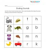 math worksheet : free kindergarten worksheets : Ending Sound Worksheets For Kindergarten