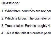 Us Geography Quiz Questions
