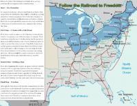 Follow the Railroad to Freedom printable
