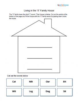 it family house worksheet