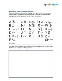 Worksheets Hieroglyphics Worksheet hieroglyphics worksheets write your name using heiroglyphs