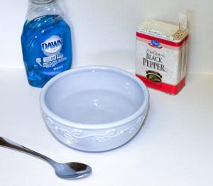 supplies for surface tension experiment