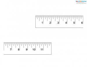 inch ruler