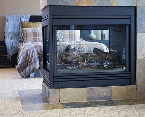 Source - Install A Fireplace In The Bedroom [Slideshow]