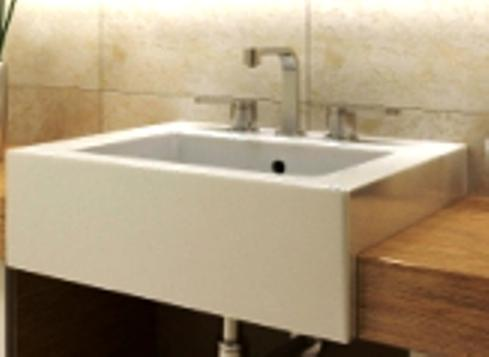 Apron sinks are also referred to as farmhouse sinks because they are ...