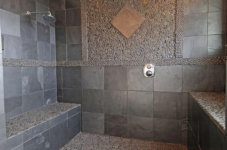 Photo Stone Tile Bathrooms Bathroom Tile Photos Slideshow
