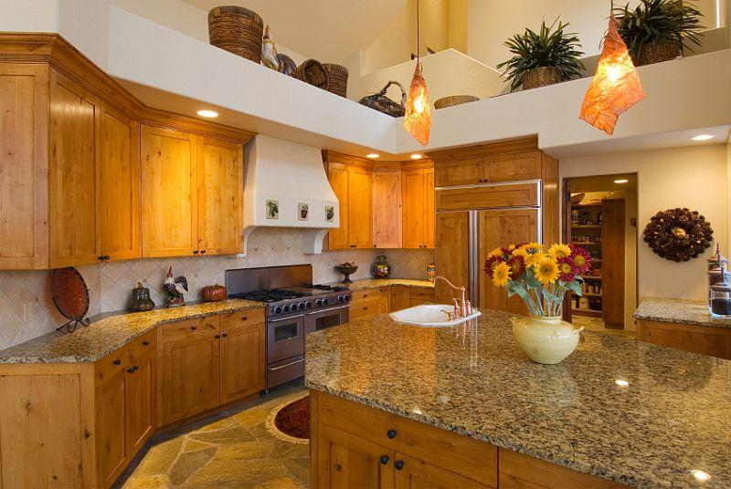 Design gallery of kitchen granite countertops slideshow for Cuisine provencale
