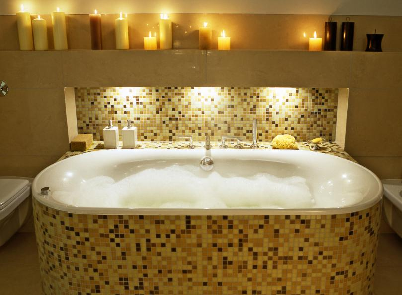 Mosaic tub surround. Bathtub Tile Ideas  Slideshow