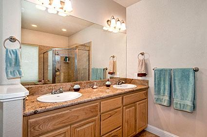 Double Sink for Bathrooms