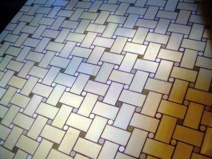 Basketweave tile pattern